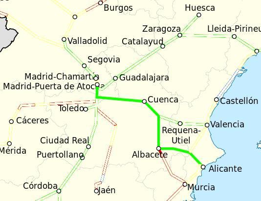 Ave Madrid Alicante