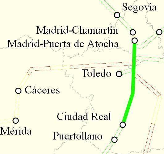 Ave Madrid Ciudad Real