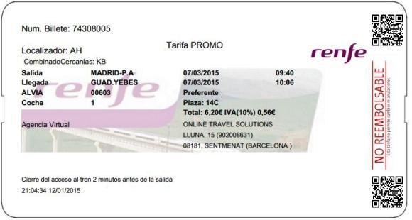 Billetes Ave Madrid Guadalajara