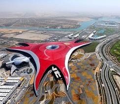 Parque temático de Ferrari en Adu Dabi