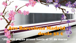 32 euros el billete Ave Barcelona-Madrid