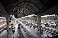 Estación trenes Santa Justa, Sevilla