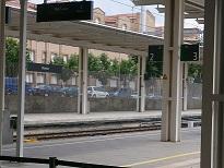 Estación de tren en Huesca