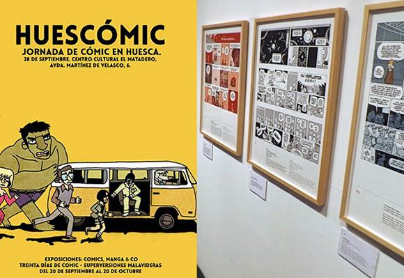 Disfruta de Huescomic viajando en Ave a la ciudad de Huesca