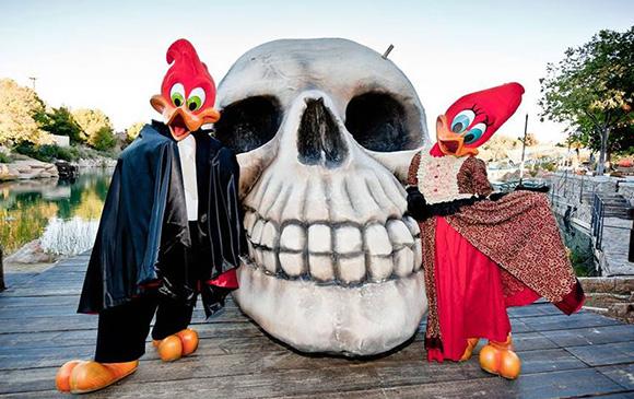 Disfruta de Halloween en los parques de atracciones