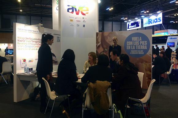 La Red de Ciudades AVE promociona su oferta en la WTM de Londres
