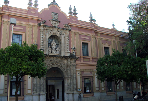 Museo de Bellas Artes en Sevilla