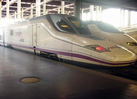 Los trenes AVE son los segundos más rápidos de Europa