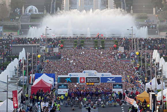 Disfruta de la 38ª Maratón de Barcelona