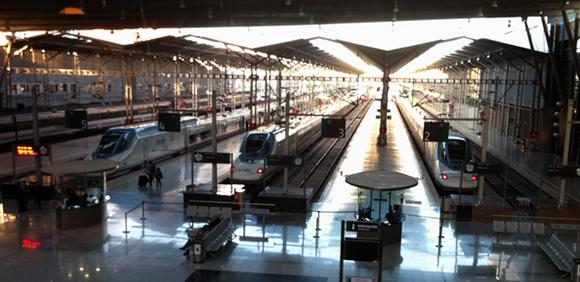 El AVE entre Málaga y Madrid sigue aumentando sus pasajeros