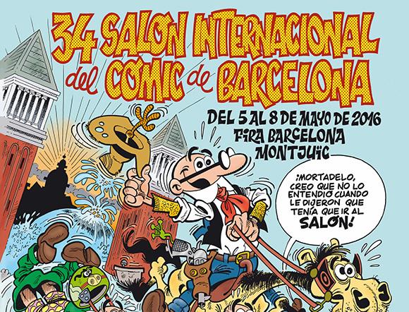 Disfruta del Salón Internacional del Cómic viajando a Barcelona