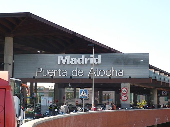 Atocha, la pequeña ciudad de los trenes AVE