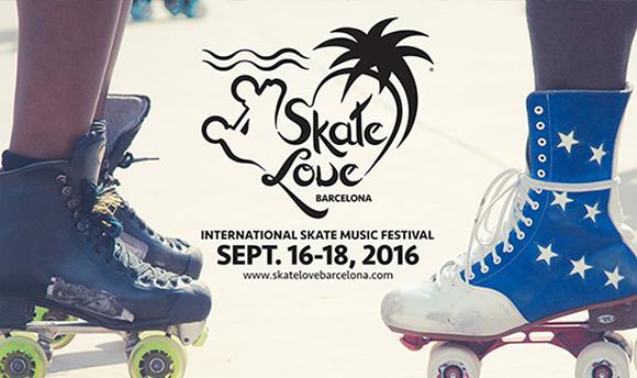 Viaja en AVE al Skate Love BCN 2016