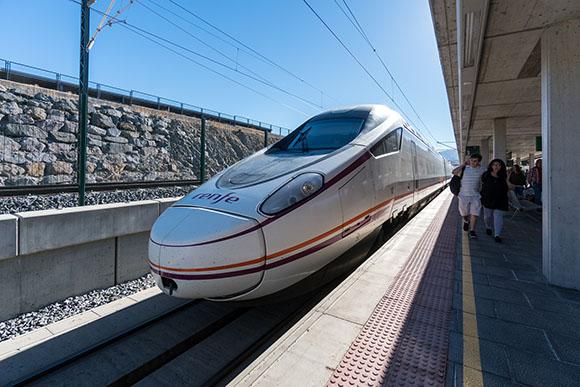 Los trenes AVE más utilizados
