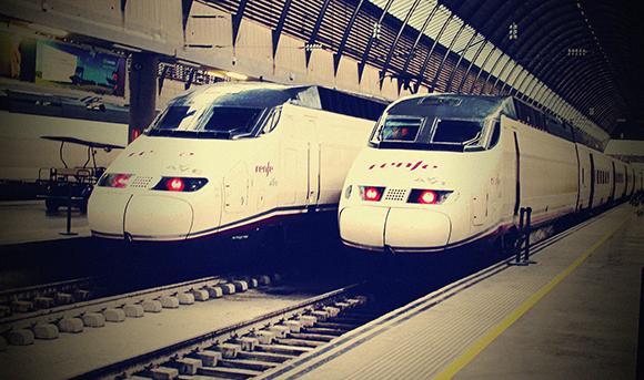 Los trenes AVE registraron un aumento de viajeros en enero 2018