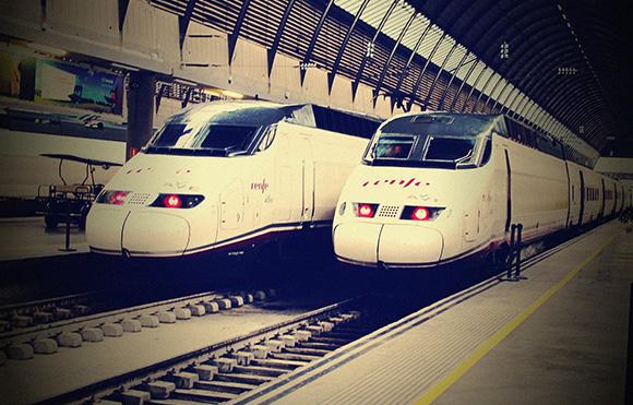 Los trenes AVE han patrocinado Huelva en agosto 2018