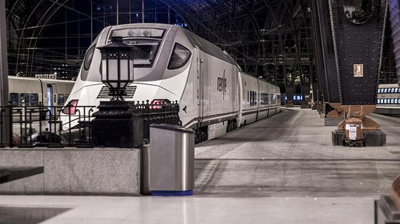Los trenes AVE registran datos muy positivos este 2018