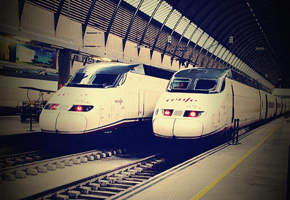 En enero de 2019 aumentaron los viajeros de trenes AVE