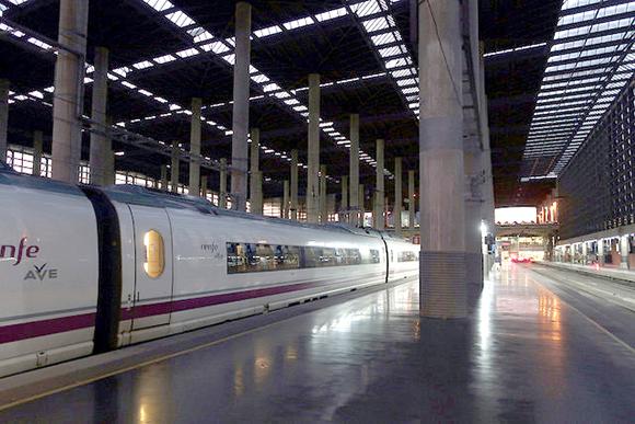 Plan de mantenimiento 2019 de la flota de trenes AVE