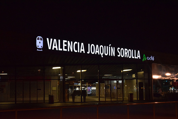 Exposición en la estación AVE de Valencia hasta febrero 2020