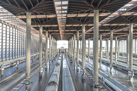 La estación de AVE de Valladolid ha mejorado en 2020