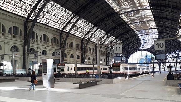 La estación de trenes y AVE Barcelona – Sants y sus obras 2020
